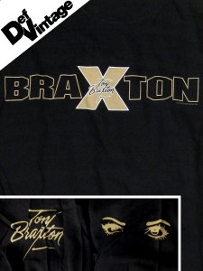 '97 Toni Braxton Striped Sleeves Long Sleeve Tee