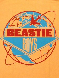 "Beastie Boys ""Licensed To ILL Around The World Tour"" T-Shirt"
