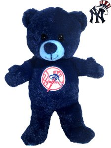 NEW YORK YANKEES 9 INCH TEAM COLOR BEAR
