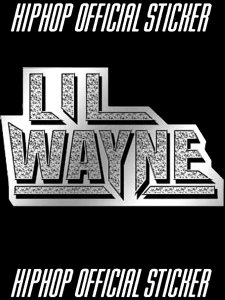 LIL WAYNE MIRROR Official Sticker