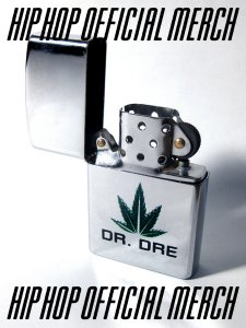 Dr. Dre Silver Zippo Style Lighter