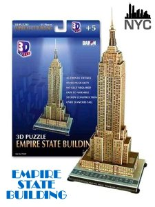 """Empire State Building"" New York Worlds Great Architecture Series 3D"