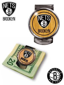 BROOKLYN NETS MONEY CLIP