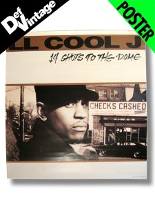 "'93 LL COOL J  ""14 Shots The Dome"" Promotional Poster"