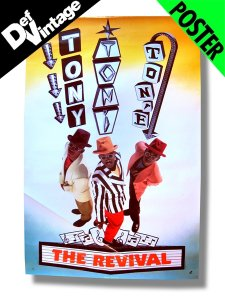"'90 Tony Toni Tone ""The Revival"" Promotional Poster"