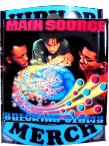 "Main Source ""Breakin Atoms"" Can Badge"