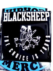 "Black Sheep ""Choice Is Yours"" Can Badge"