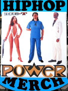 "Ice T ""Power"" Can Badge"