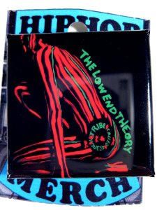 "A Tribe Called Quest ""Low End Theory"" Can Badge"