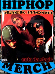 "Black Moon ""Enta Da Stage"" Can Badge"