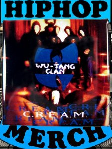 "Wu Tang Clan ""C.R.E.A.M."" Button"