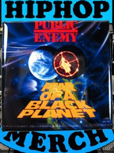 "Public Enemy ""Fear Of A..."" Button"