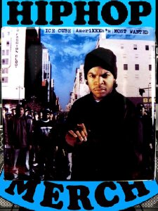 "Ice Cube ""Amerikkka..."" Button"
