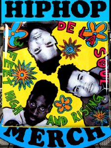 "De La Soul ""3 Feet High And Rising"" Can Badge"