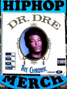 "Dr. Dre ""The Chronic"" Can Badge"