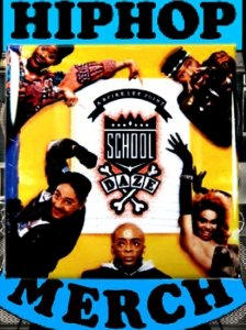 "OST ""School Daze"" Can Badge"