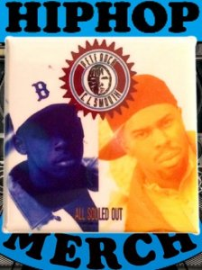 "Pete Rock & CL smooth ""ALL SOULD OUT"" Can Badge"