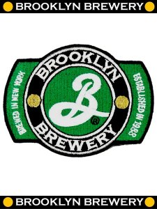 """BB"" Official Brewery Wing Patch"