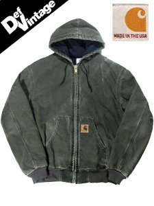 US Carhartt Hood Duck Work Jacket