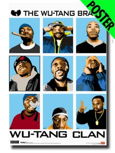 "Wu-Tang Clan ""Animated"" Official Poster"