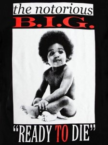 "BIGGIE ""READY TO DIE"" T-SHIRT"
