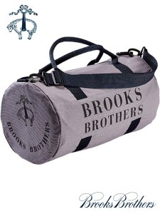 BROOKS BROTHERS DUFFLE DRUM BAG