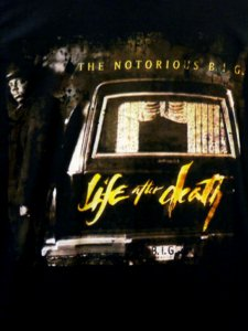 "Notorious BIG ""Life after Death"" Tee"