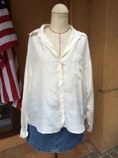 【USED】 L/S SILK SHIRT