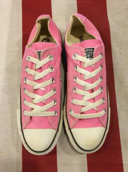 【USED】CONVERSE ALL STAR LO PINK  5 1/2(24.5cm)