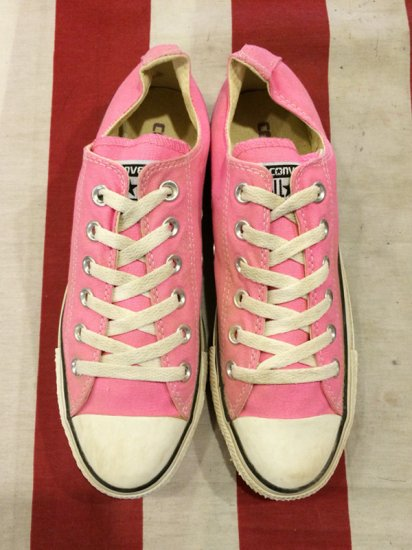 【USED】CONVERSE ALL STAR LO PINK 6(25cm)