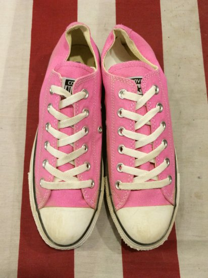 【USED】CONVERSE ALL STAR LO PINK 7(25.5cm)