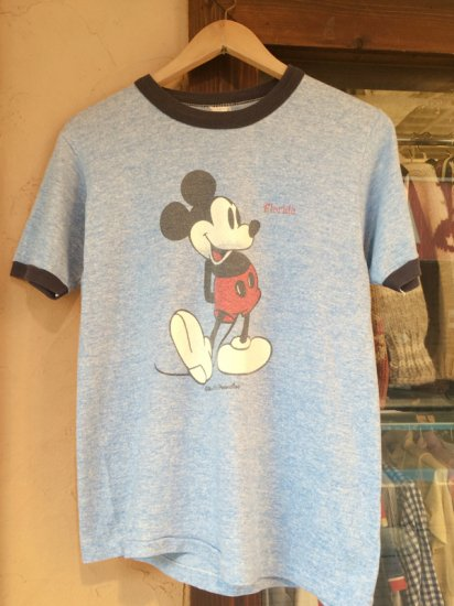【USED】  Disney Mickey Mouse S/S TEE