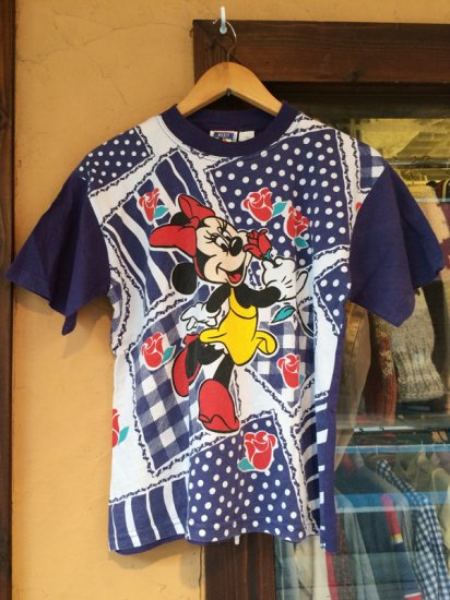 【USED】 EURO Disney Minnie Mouse S/S TEE