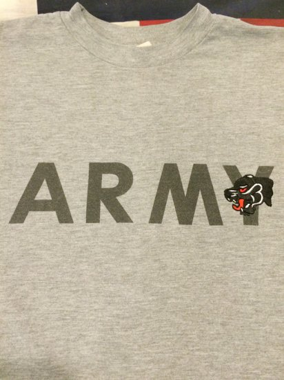 【USED】CUSTOM MADE U.S.ARMY TRAINING S/S TEE