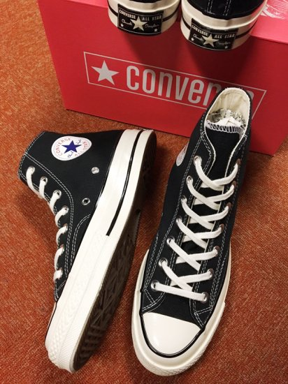 【NEW】CONVERSE ALL STAR CHUCK TAYLOR CT70 HI BLACK