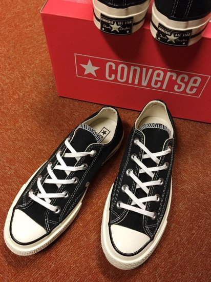 【NEW】CONVERSE ALL STAR CHUCK TAYLOR CT70 LO BLACK