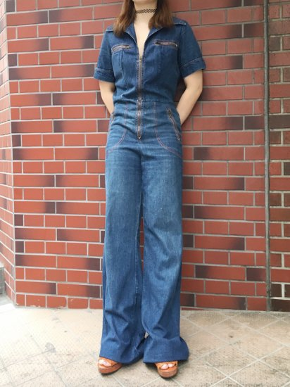 【USED】70s VINTAGE JUMPSUITS