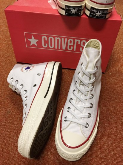 【NEW】CONVERSE ALL STAR CHUCK TAYLOR CT70 HI WHITE