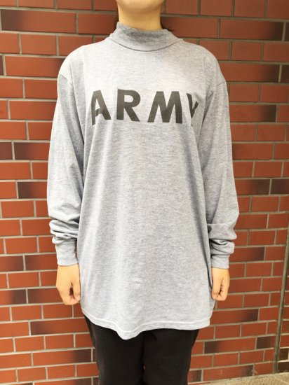 【USED】U.S.ARMY TRAINING L/S TEE
