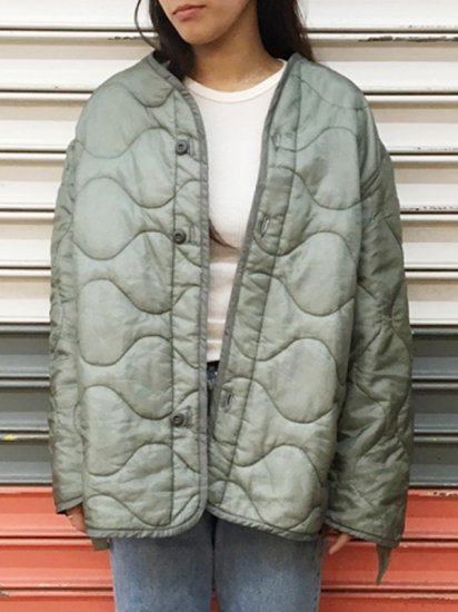 【USED】QUILTING LINER JACKET