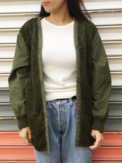 【DEAD STOCK】DUTCH PARKA LINER JACKET