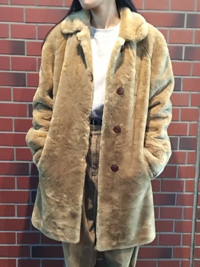 【USED】 FUR COAT