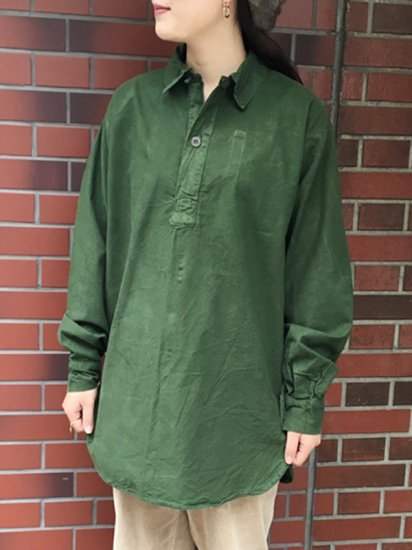 【USED】SWEDISH<BR>PULLOVER TUNIC TOP