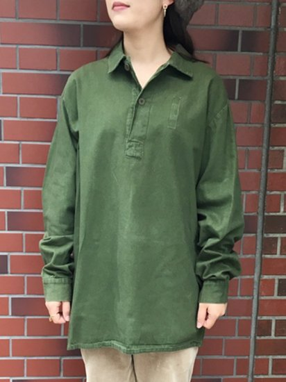 【USED】SWEDISH <BR>PULLOVER TUNIC TOP