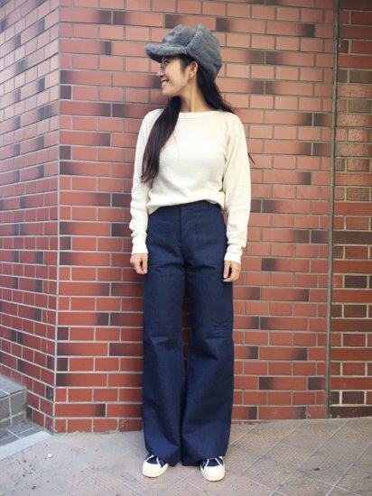 【DEAD STOCK】U.S NAVY SAILOR MARINE PANT W27R