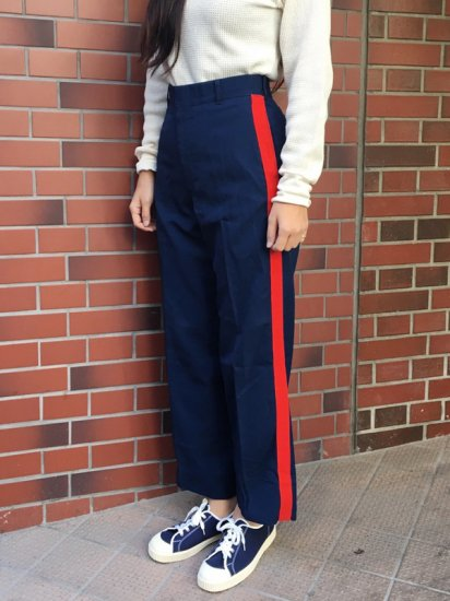 【USED】MILITARY LINE PANT W30R