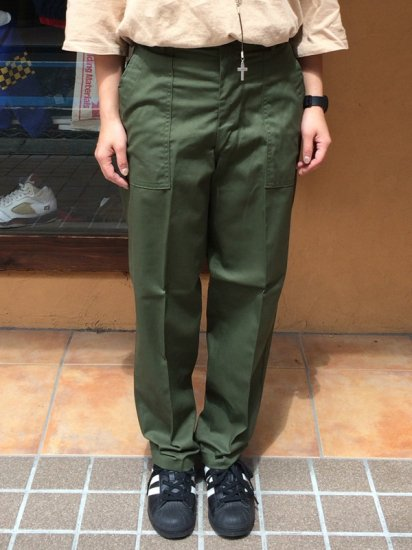 【DEAD STOCK】U.S ARMY BAKER PANTS W26×L27