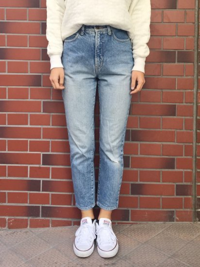 【USED】90s Calvin Klein Sport TAPERED JEANS W26
