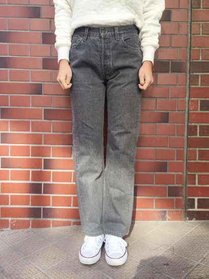 【USED】Levi's #501 BLACK JEANS W29
