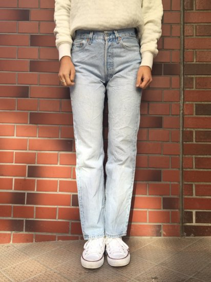 【USED】Levi's #501 JEANS W27